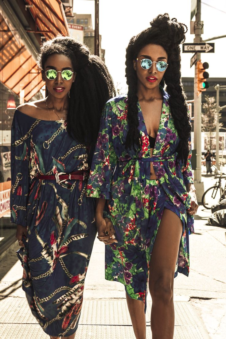 I love these two women Afro punk festival