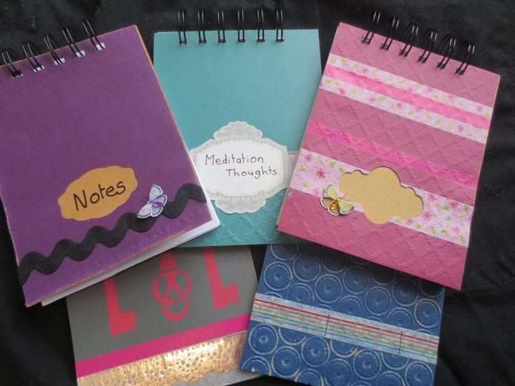 Decorated Notebook Cover DIY Craft Project