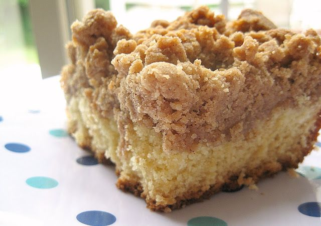 Make at home copycat of Starbucks Coffee Cake!