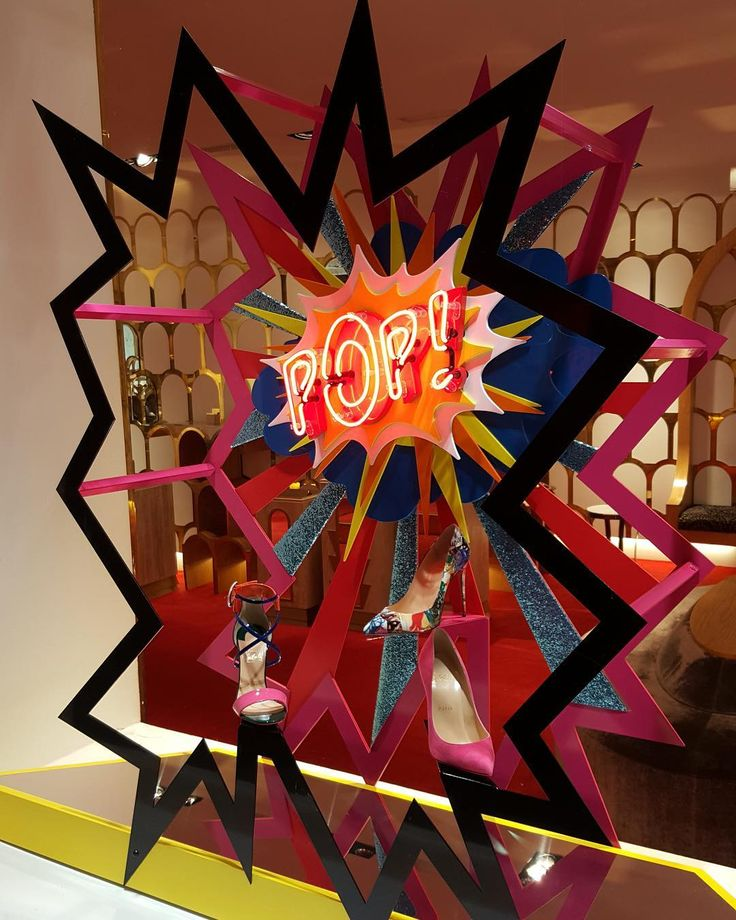 "CHRISTIAN LOUBOUTIN, Madrid, Spain, ""MAKE IT POP!"", creative by StudioXAG, pinned by Ton der Veer"