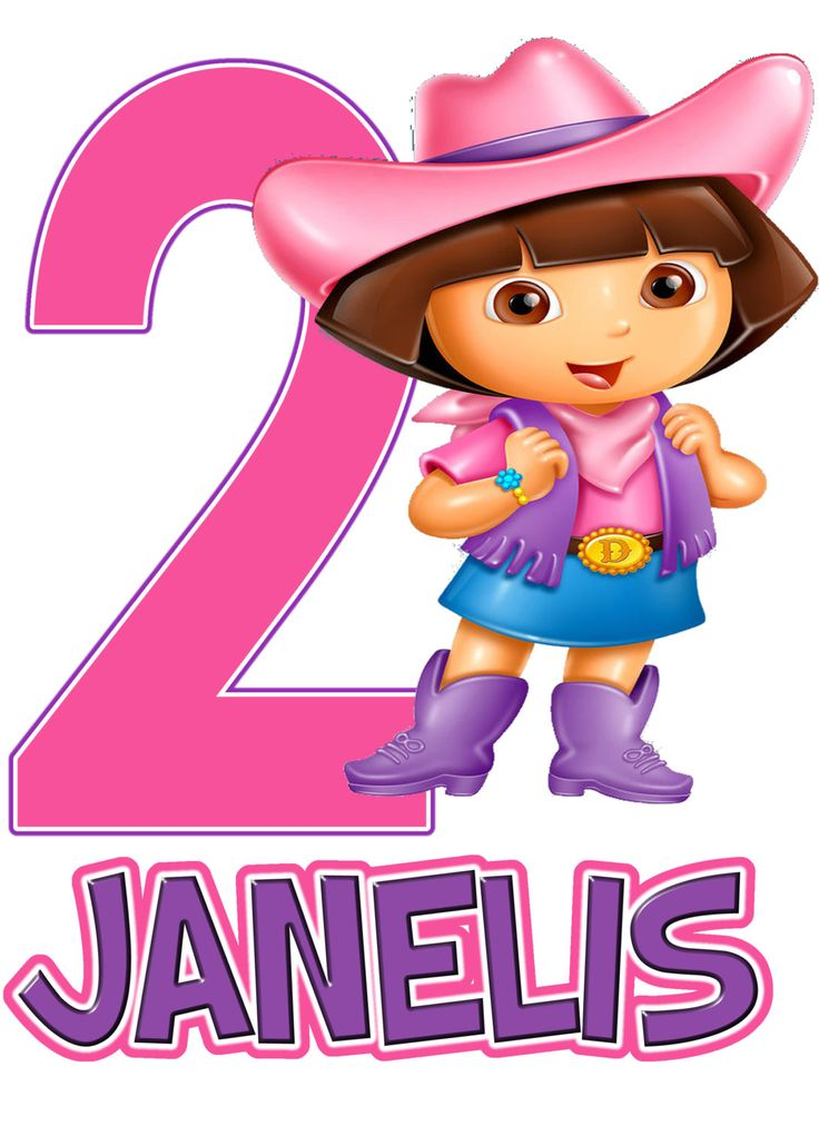 Dora the Explorer Cowgirl Birthday Party t Shirt by AMMagicDesigns, $4.25