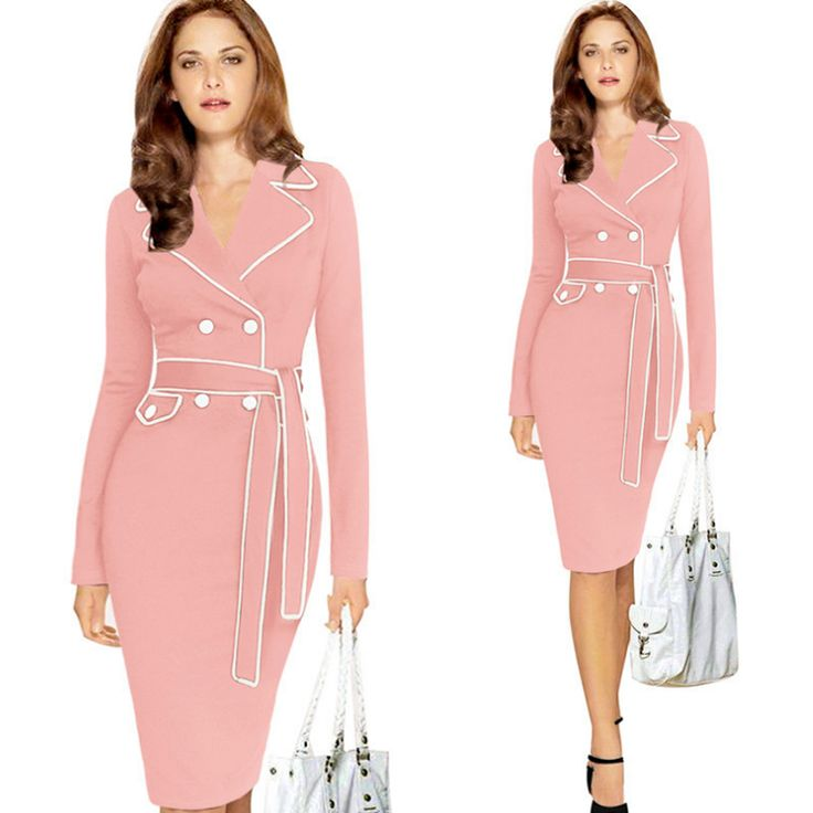 Polyester & Cotton Women Business Dress Suit