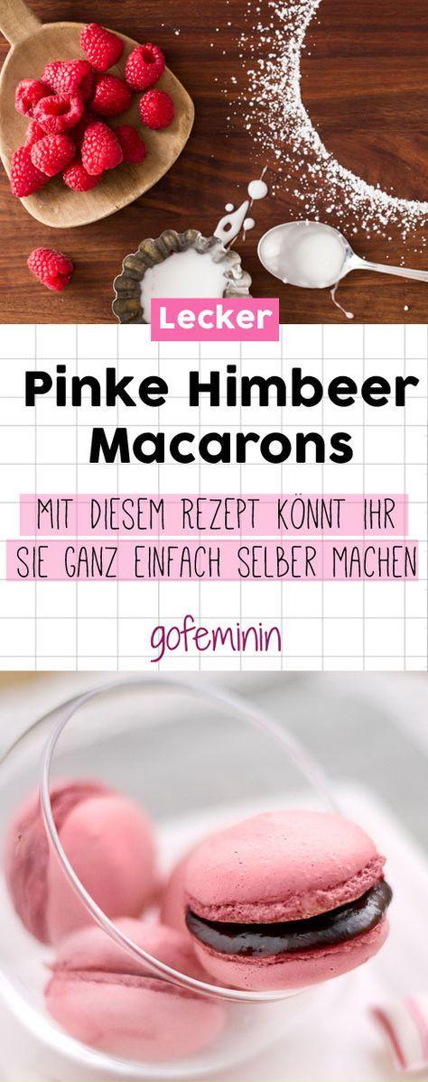 Schon mal selbstgemachte Himbeer-Macarons probiert? Mit diesem Rezept kannst ihr …