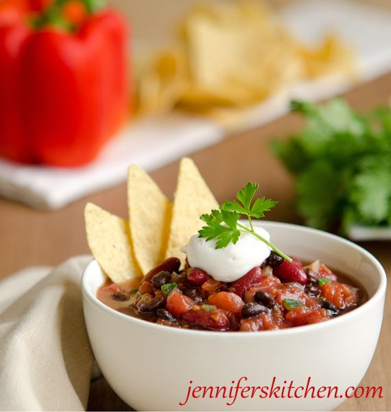 This mild chili recipe sounds delicious, especially if you're not a fan of very spicy food.  ~Renee