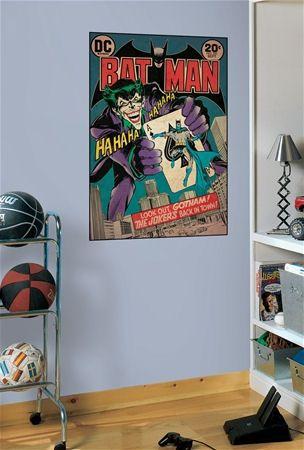 Batman and The Joker Comic Book Cover Sticker - Wall Sticker Outlet