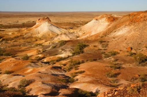 Painted desert, South Australia
