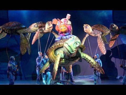 ºoº 超本格的 ディズニーワールド アニマルキングダムのファインディング・ニモ - ザ・ミュージカル Finding Nemo - The M...