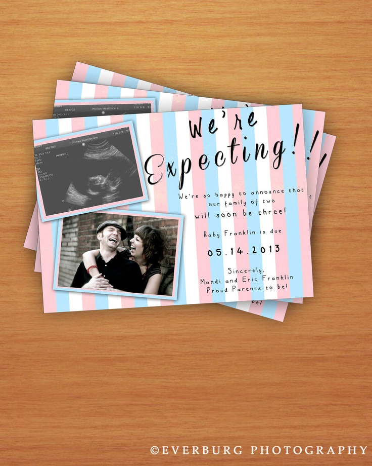 We're Expecting Pregnancy Announcement. $8.00, via Etsy.