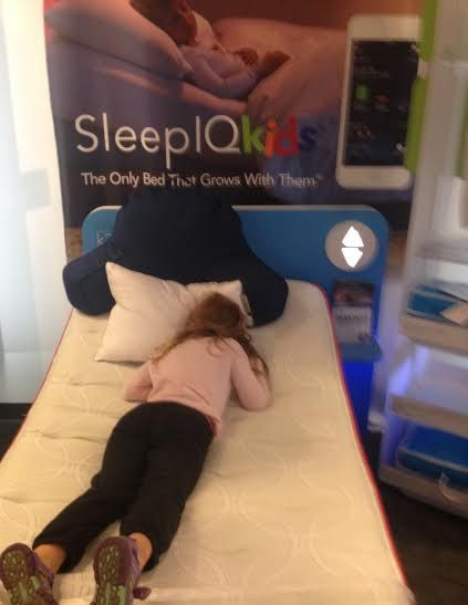 Through #Smiley360 , my daughter got to try the #SleepNumber #SleepIQKids bed for free at the #ExtonSquareMall ! Comfortable, adjustable, perfect- Sleep Number thought of all the possible reasons why a child wouldn't get a great night sleep and address that.  They left no stone unturned.  This is more than just finding your child's sleep number!  My daughter couldn't get enough of this mattress!  LOVE IT! #SleepIQKids #StopTheStall