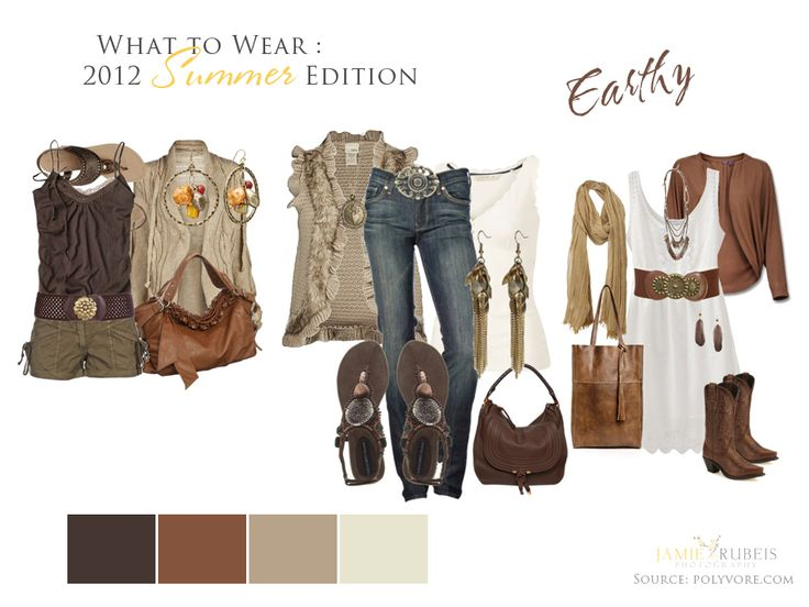 2012 Summer Earthy Edition: Photography Outfits, Session Outfits, Coordinating Outfits