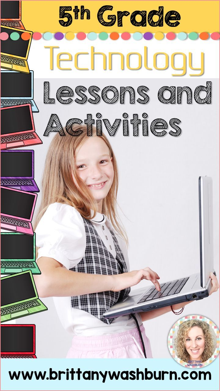 5th grade technology lesson plans and activities for the entire school year. These lesson plans and activities will save you so much time coming up with what to do during your computer lab time. Ideal for a technology teacher or a 5th grade teacher with mandatory lab time. All of the work is done for you!