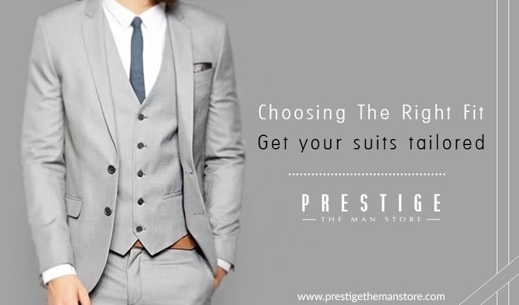 Take extra care to get your suits tailored as this will make you look dapper #RightFit #PrestigeTheManStore http://bit.ly/2cvH9tO