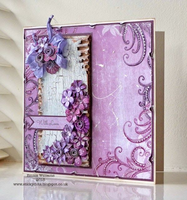 Velvet Plum by Emma Williams using Craftwork Cards products