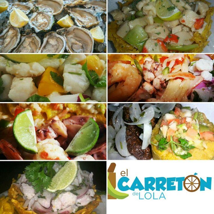 Ubicados en la Calle Mendez Vigo en el pueblo de Dorado, a pasos de la Alcaldia frente a la Casa del Artesano. Abierto de jueves a domingo. Tel. 7876079307. Nuestra promesa: calidad, cantidad, servicio y buenos precios. Visitanos, te esperamos! #mariscos #seafoodlover #elcarretondelola  #dorado #puertorico #arañasdeplatano #arepas #mofongos #apoyatubarrio #compralocal #vamospormas