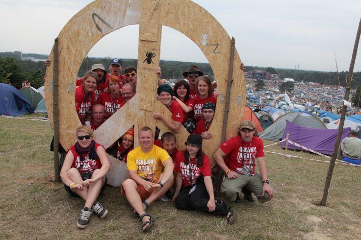 Jedna z naszych grup polowych, działających na Przystanku Woodstock. Fot. Darek Dylski