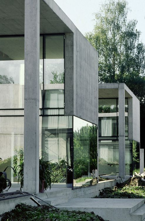 Concrete and glass combination architecture http://ITCHBAN.com // Architecture, Living Space & Furniture Inspiration #10