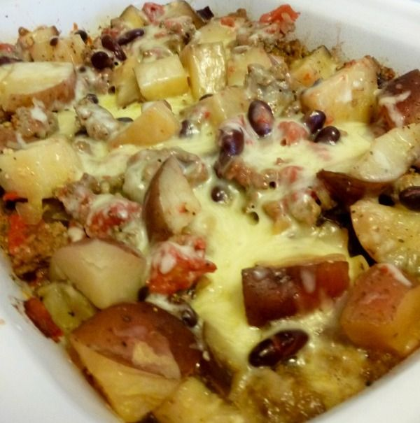 Crockpot Cowboy's Casserole Delight. Daily simple recipes for awesome ideas