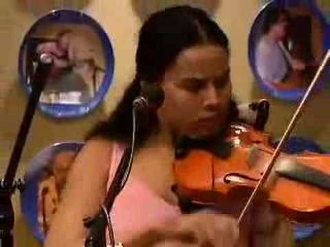 "Blue Plate Special: Carolina Chocolate Drops performing ""Hit' Em Up Style"".  Rhiannon stays old school and just gets this seriously done."