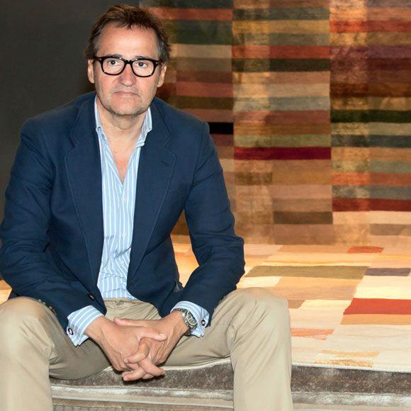 Ignacio Curt, especialista en alfombras