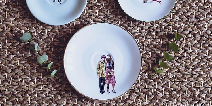 A modern take on decorative plates on the wall by Dishipline, an Italian-Dutch…