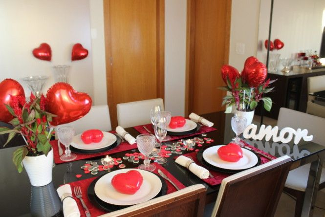 mesa posta para osdias dos namorados  | Mesa posta: Jantar dia dos namorados - Vida de Casada