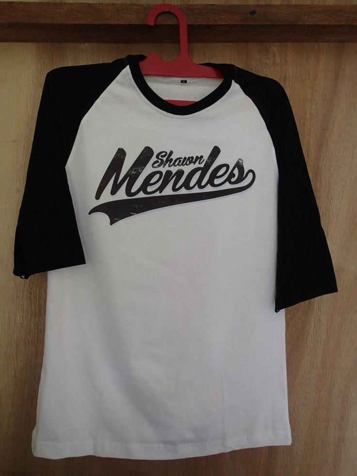 shawn mendes tshirt raglan baseball shirt tshirt clothing unisex magcon o2l #unbranded #raglanbaseball