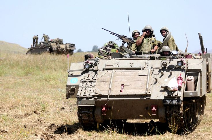 Israeli M113 armored personal carrier