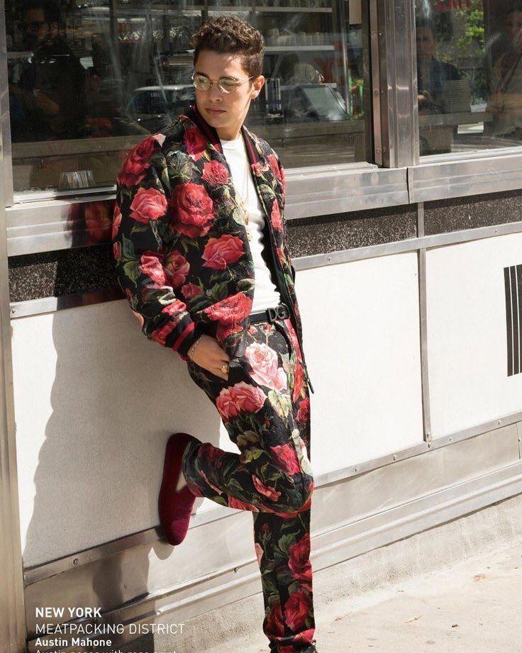 Austin Mahone x Dolce & Gabbana