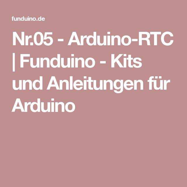 Nr.05 - Arduino-RTC | Funduino - Kits und Anleitungen für Arduino
