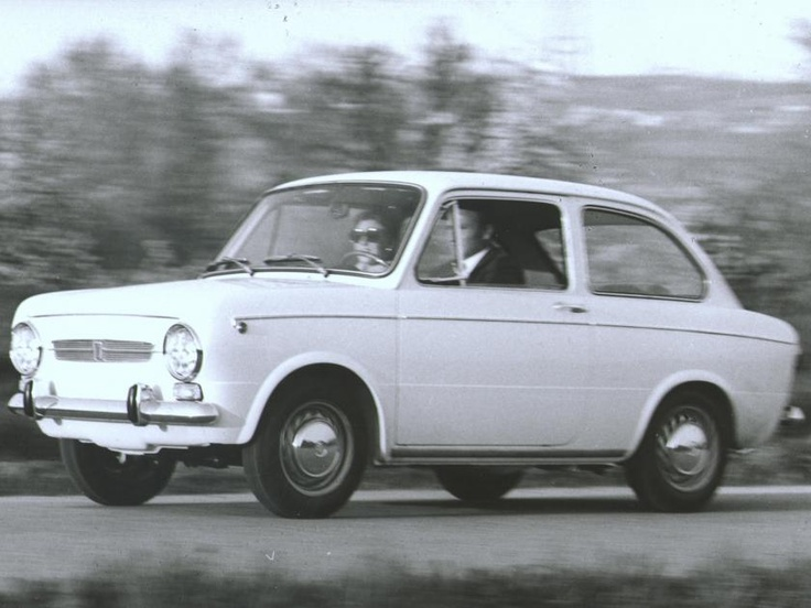 The family car  Fiat 850