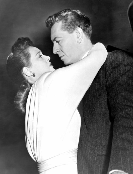 "Bette Davis, Paul Henreid in ""Deception"" (1946)"