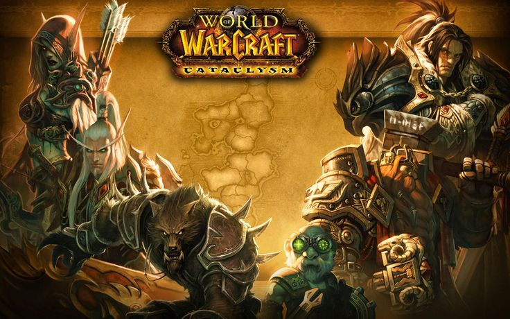 World Of Warcraft Cataclysm Worgen Wallpaper