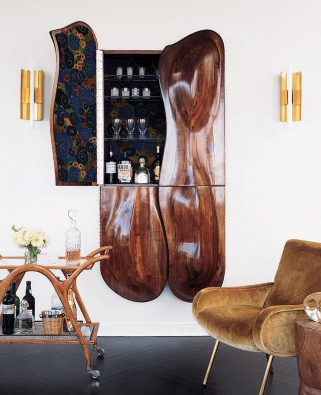 8 Incredibly Chic Home Bars To Inspire You