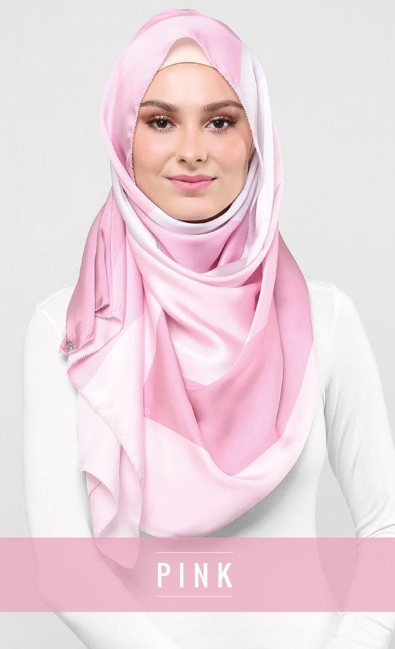 Pink AereXduck Satin Silk