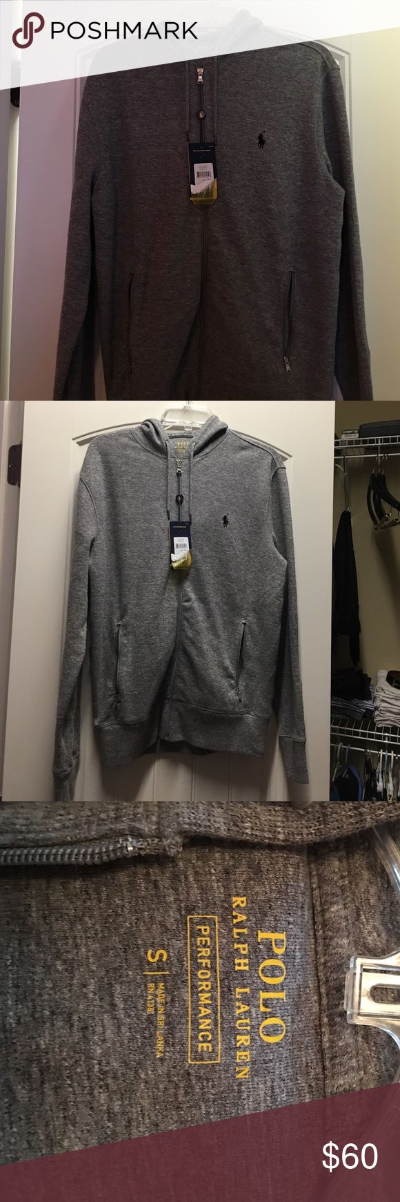 Polo Ralph Laurent Hoodie Polo Ralph Laurent Hoodie. Size Small. Brand new with tags. Color Gray. Polo by Ralph Lauren Shirts Sweatshirts & Hoodies