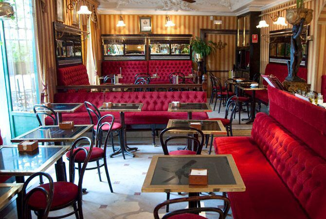 Place of the day :  Cafe de Oriente. Madrid