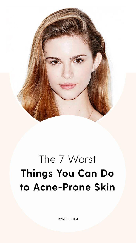 How To Take Care Of Acne Prone Skin Getridofacne Combination Skin Care Skin Care Pimples Acne Prone Skin