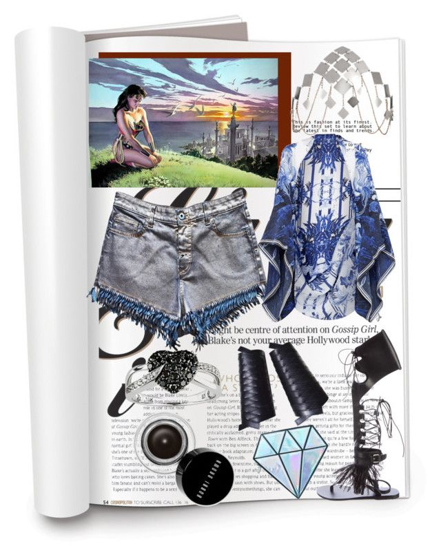 """Diamond Tool"" by dolcechez on Polyvore featuring Patrizia Pepe, Agent Provocateur, Ted Baker, Christian Dior, Ice, Ancient Greek Sandals, Bobbi Brown Cosmetics and Unicorn Lashes"