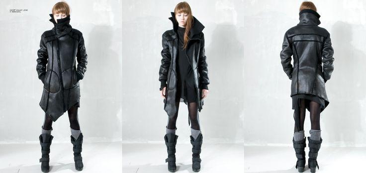 DEMOBAZA WOMAN AW2012 RECALCULATING. Model: Gia @ ivet fashion bulgaria.