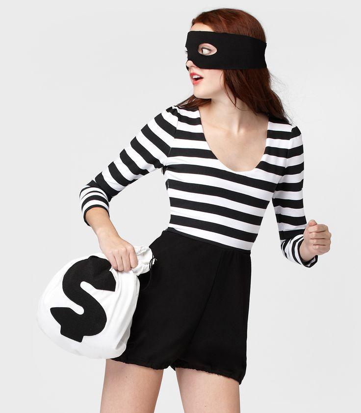 Best 25+ Bank Robber Costume Ideas On Pinterest | Bank Robber Halloween Ideas Bank Robber ...