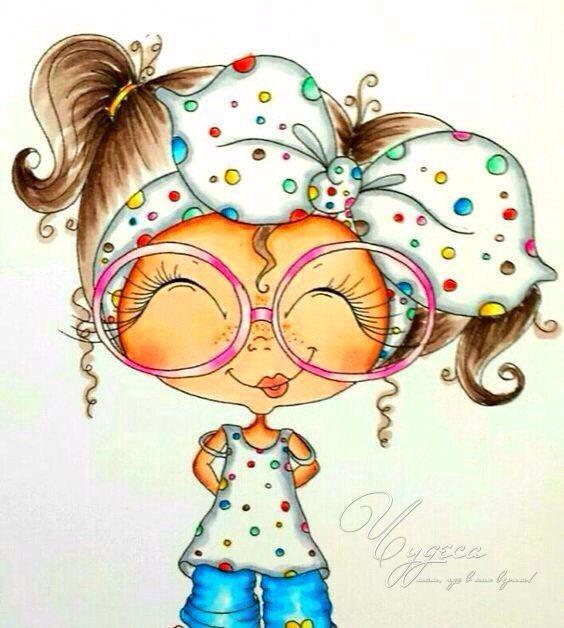 Рисунки смешных кукол