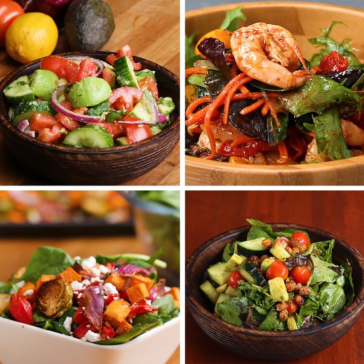Satisfying Salads That Don't Suck by Tasty
