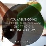You! Keep going!