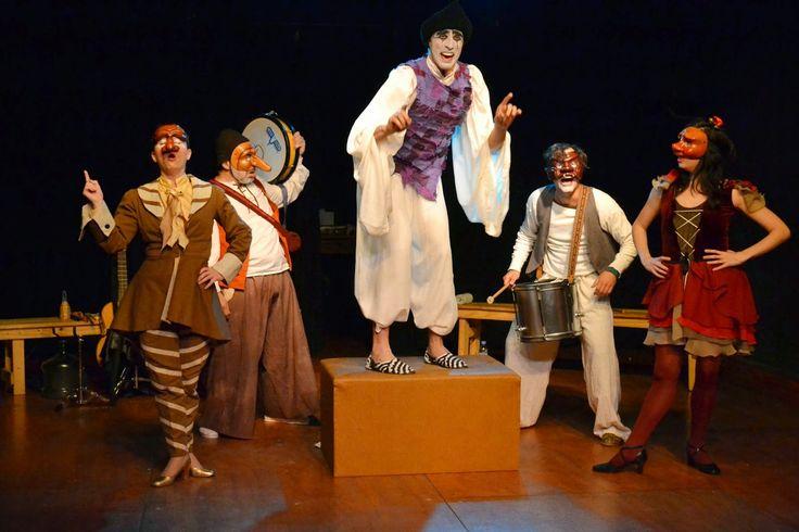 Tamorto - commedia dell'arte Teatro Belisario **** Jorge Costa