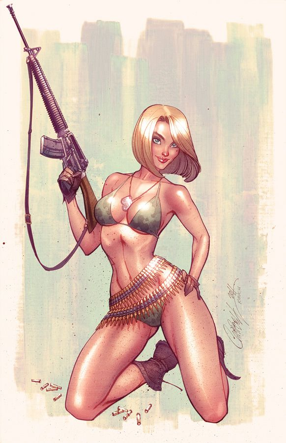 Danger Girl Revolver by J. Scott Campbell