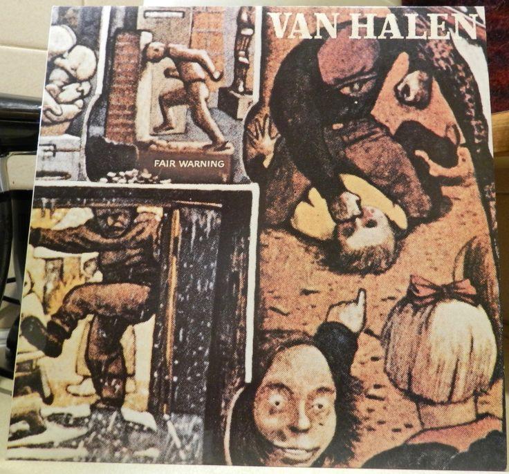 Van Halen Fair Warning Vinyl Record
