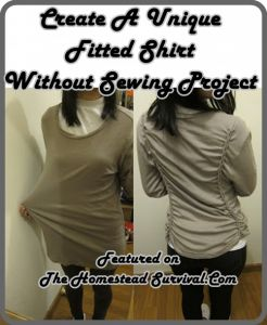 Create A Unique Fitted Shirt Without Sewing Project Create A Unique Fitted Shirt WITHOUT Sewing Project