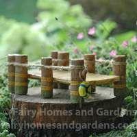 Fishing Dock for Fairy Gardens