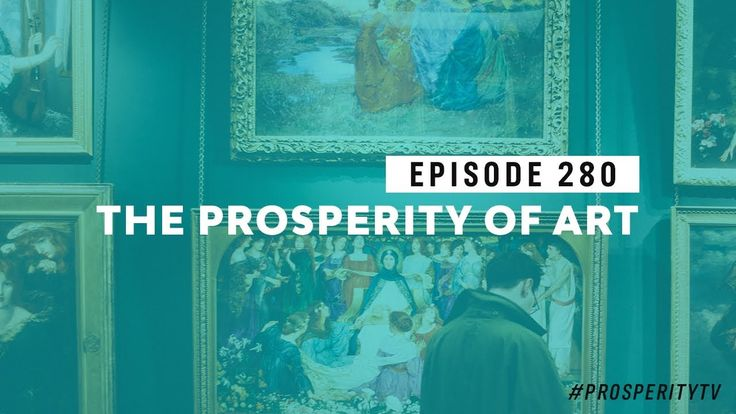 The Prosperity of Art | Ep. 280 http://ift.tt/nBzbIB One of the most prosperous ways to enrich your life is through the beauty of art. That's the topic of this week's episode of Prosperity TV. Please like and share.
