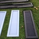 Spray Paint House Shutters